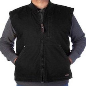 Smith's Workwear Sherpa-Lined Canvas Vest